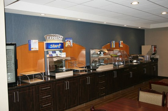 Nisku, Canada: Newly Rennovated Breakfast Area