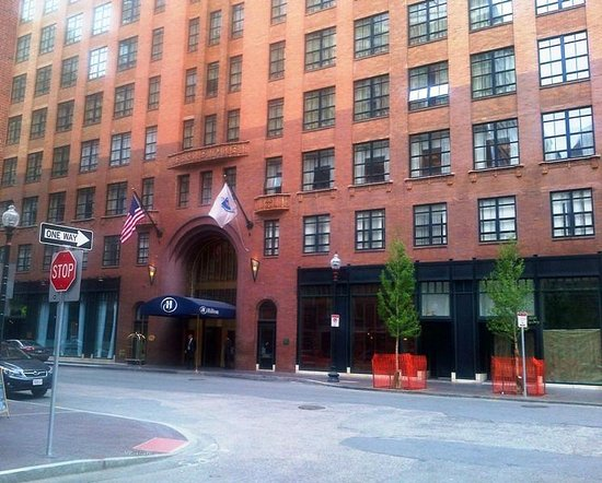 Hilton Boston Downtown / Faneuil Hall: Really convenient location