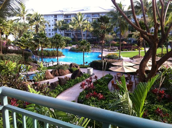 The Westin Kaanapali Ocean Resort Villas: View from our room 3208