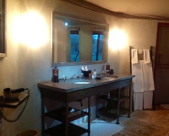 Sanctuary Swala: our bathroom area