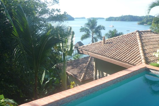 Boca Chica, Panama: View from Pool