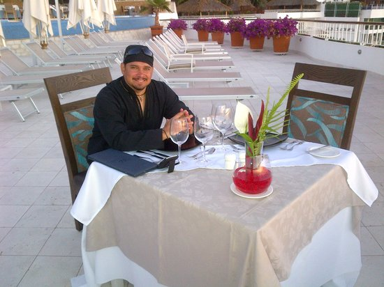 Grand Miramar Club & Spa: cena restaurante