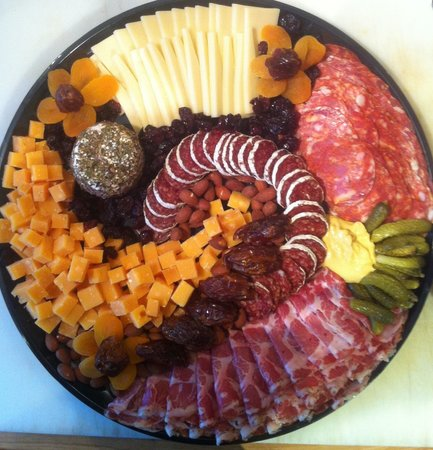 Scarborough, ME: Cheese & Charcuterie platter from The Cheese Iron