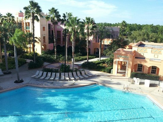 Disney's Coronado Springs Resort: Pool View, Casitas Bd 4, 4th Floor, spa