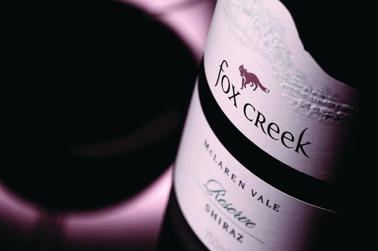 McLaren Vale, Australia: Fox Creek's flagship wine, the Reserve Shiraz
