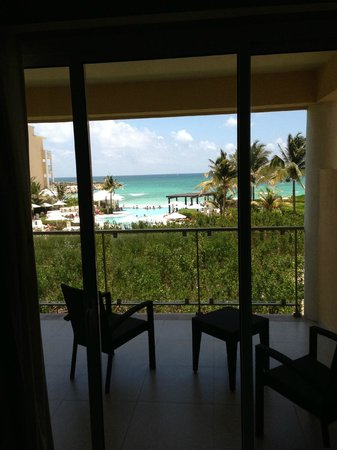 Now Jade Riviera Cancun Resort & Spa: view from room