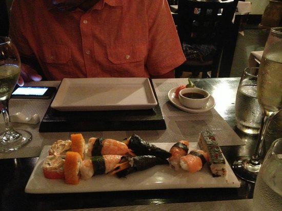 Riu Palace Las Americas: Sushi at Japanese restaurant