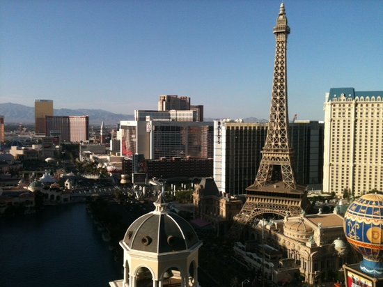 The Cosmopolitan of Las Vegas: View from Balcony