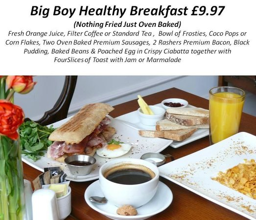 Whitley Bay, UK: Big Boy Healthy Breakfast