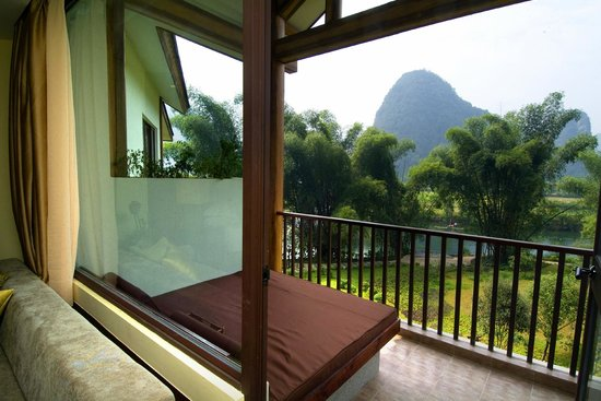Yangshuo Resort: Balcony