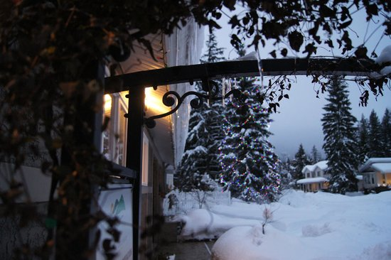 Alpenrose Revelstoke Bed and Breakfast: entrance