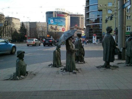 Scandic Wroclaw: In front of the hotel