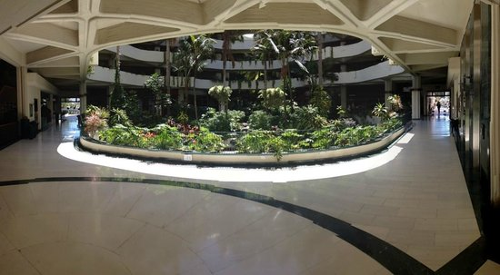 Melia Salinas : Park in the hotel center
