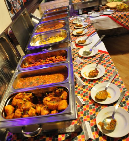 Taunton, UK : Buffet