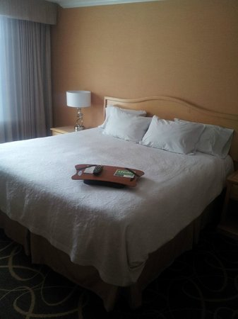 Hampton Inn & Suites Downtown Vancouver: bed
