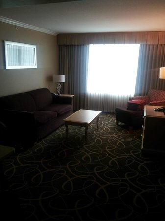 Hampton Inn & Suites Downtown Vancouver: living room