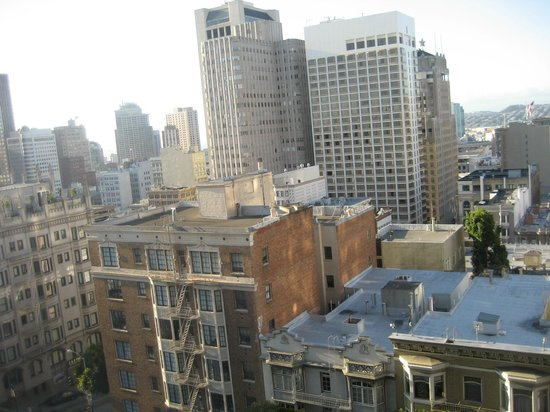 Renaissance San Francisco Stanford Court Hotel : view from my 4th floor room