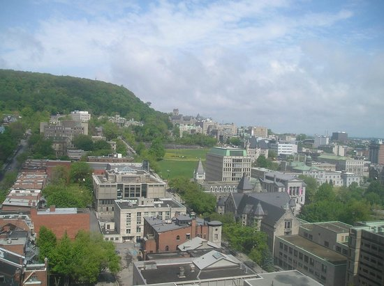 Hotel Omni Mont-Royal: View from upper floor