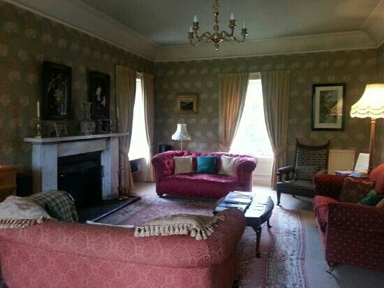 Spean Lodge: Guest lounge