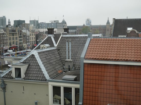 Hotel Beursstraat: View from our room