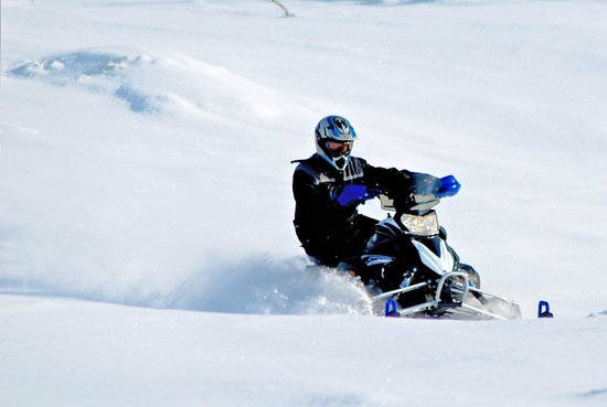 Geilo, Noruega: Snowmobiles at Dagaliopplevelser