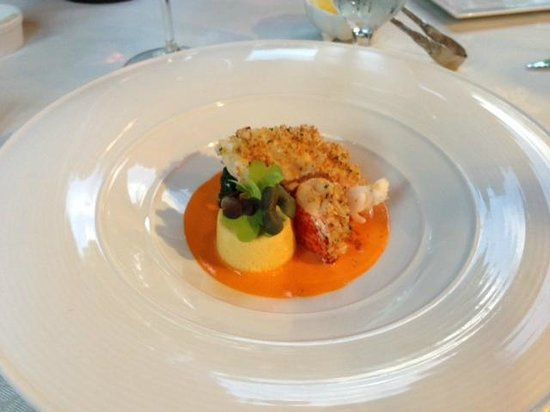 Lobster Course at the Inn at Little Washington