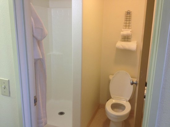 McCall, ID: Bath with Toilet and Shower Stall