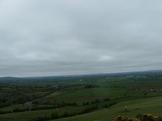 County Dublin, Irlande : A view from LOUGHCREW Cairns OLDCASTLE CO.MEATH