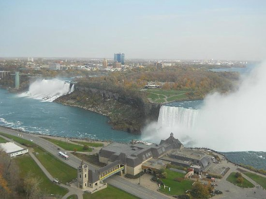 Niagara Fallsview Casino Resort: View from our room