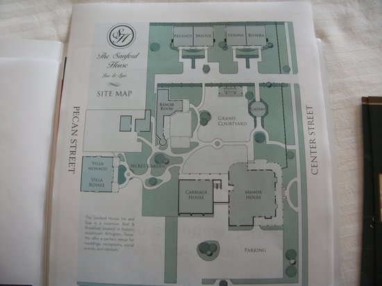 The Sanford House: The layout of the facilities