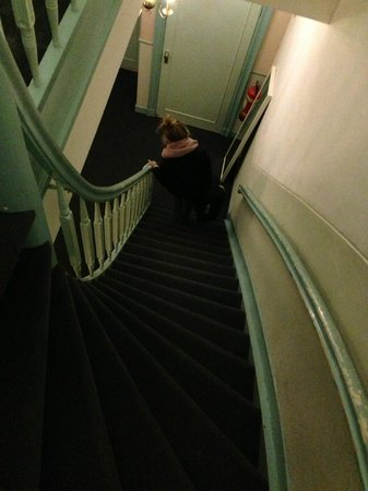Hotel Washington: Lots of steep stairs - it is Amsterdam