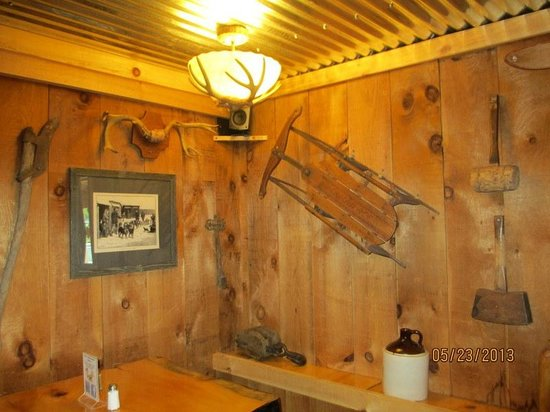 Bartlett, NH: Cabin Fever Dining Room
