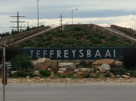 Jeffreys Bay, Sudáfrica: Welcome to J Bay