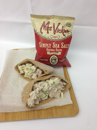 Secaucus, NJ: Chicken Salad Pita Sandwich