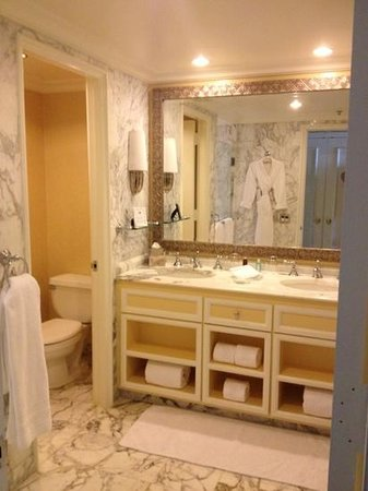 The Ritz-Carlton, Palm Beach: great bathroom