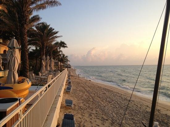 The Ritz-Carlton, Palm Beach: not a great beach