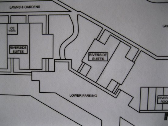 Cliffrose Lodge & Gardens: Room map