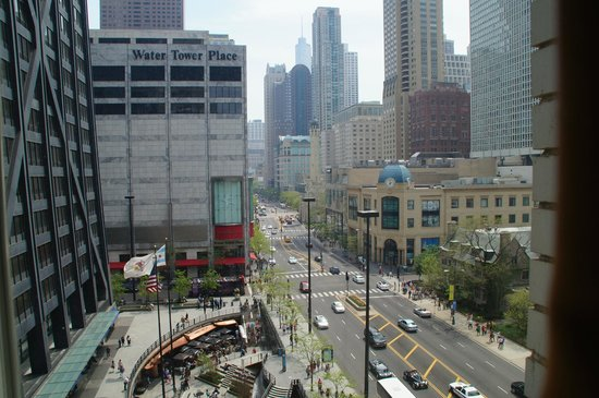 The Westin Michigan Avenue Chicago: Our room with a view - 804 - loved this view!