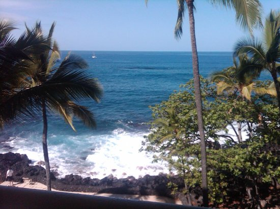Royal Kona Resort: The view from our room