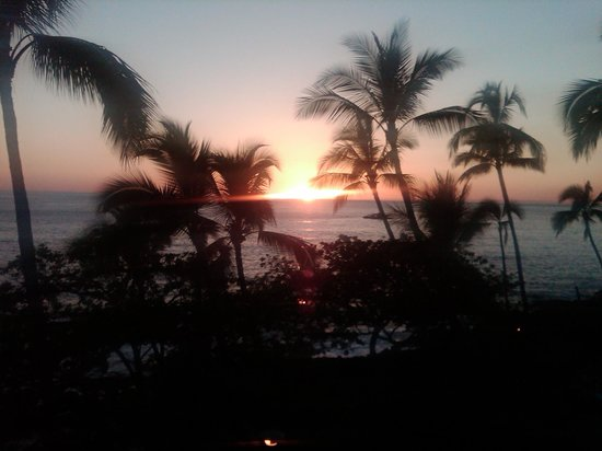 Royal Kona Resort: Did I mention the sunsets?