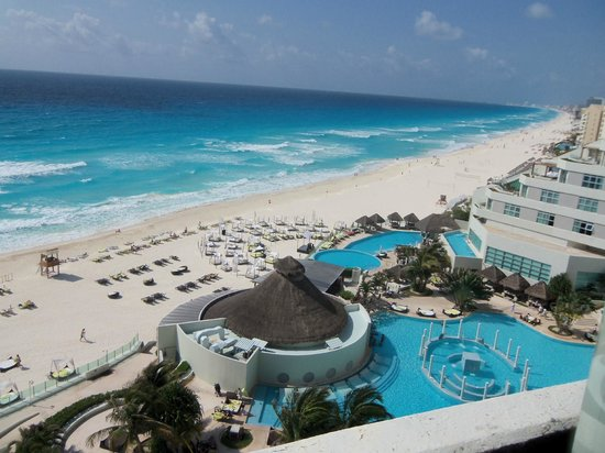 ME Cancun: view from room