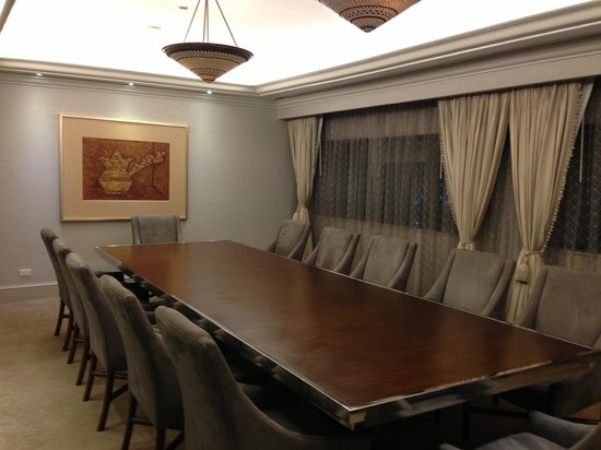 InterContinental Manila: Board Room