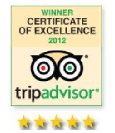 Ellsworth, ME: TripAdvisor Award of Excellence  2012