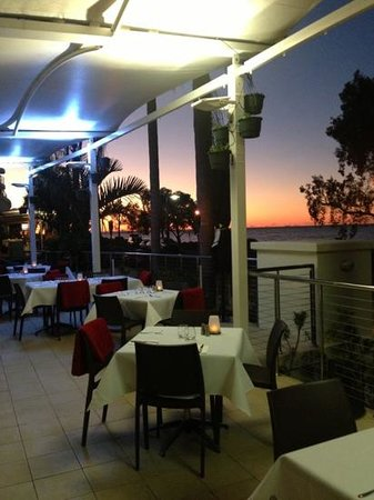 Hervey Bay, Australia: sunset @ Salt