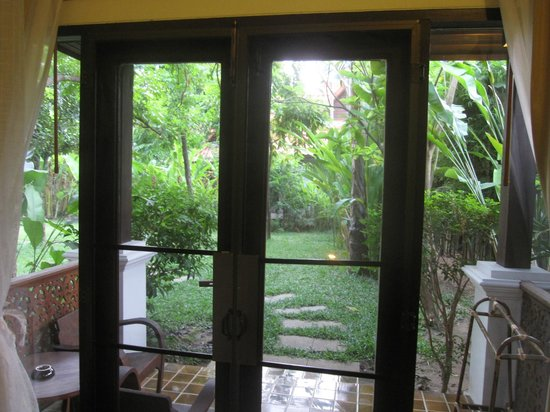Baan Orapin Bed and Breakfast: Rear Wing Superior Single View