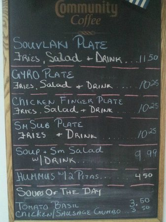Niceville, Floryda: Daily specials
