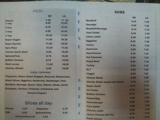 Niceville, Floryda: New Menu
