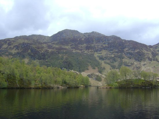 Loch Lomond and The Trossachs National Park, UK: The skyline - portside
