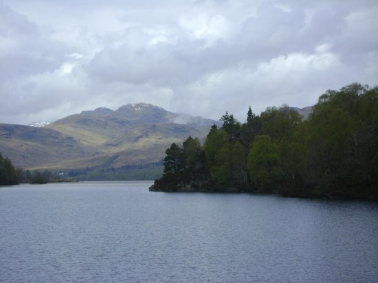 Loch Lomond and The Trossachs National Park, UK: View astern