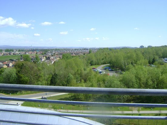 Falkirk, UK: From upper level